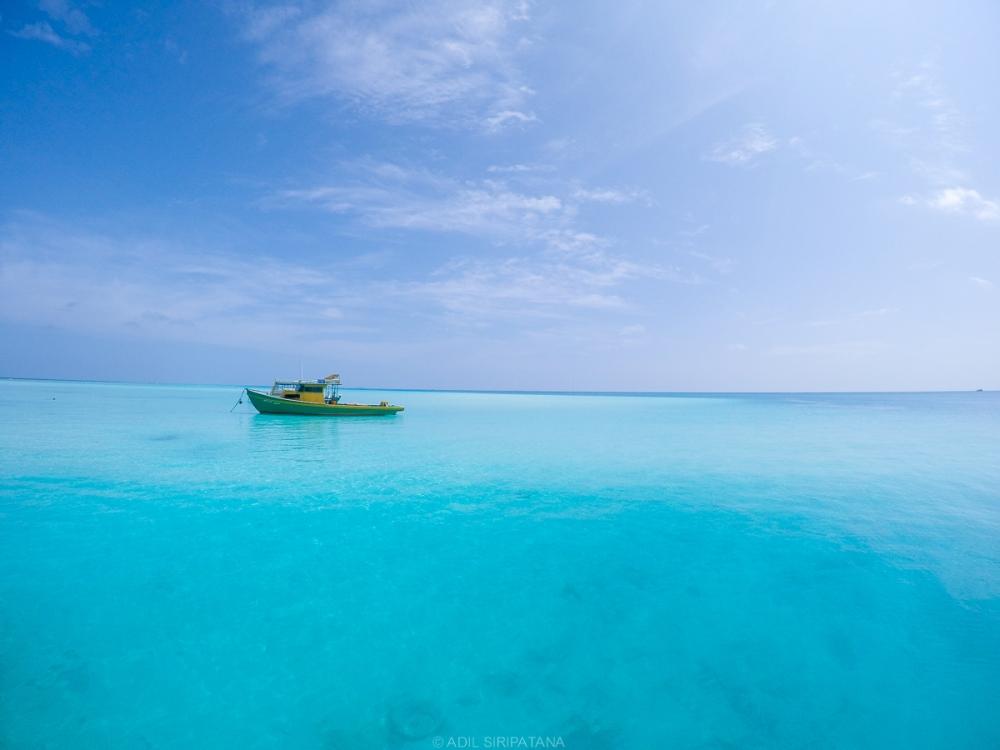 เข้าใจเลยว่า ทำไมต้องฮันนีมูนมัลดีฟส์ ณ เกาะๆหนึ่งที่เราต้องเปลี่ยนเฟอรรี่ไป Thinadhoo